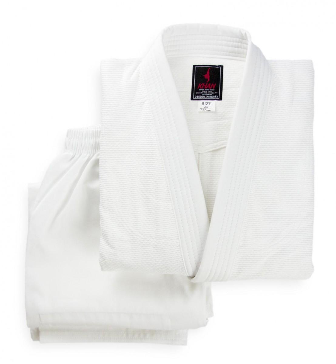 Форма для дзюдо (кимоно) KHAN Club с поясом (350 гр)